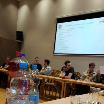 Bezirksversammlung DPSG Bergisch Land 2017