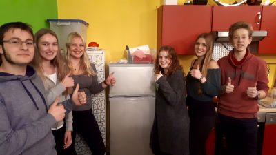 Oktober 2017 – Neuanschaffung Kühlschrank