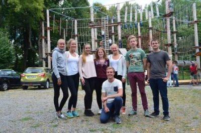 11.08.2018 – Ausflug in den Kletterpark Biggesee