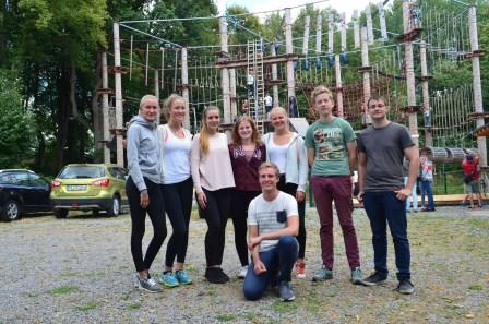 11.08.2018 – Ausflug in den Kletterpark Biggesee