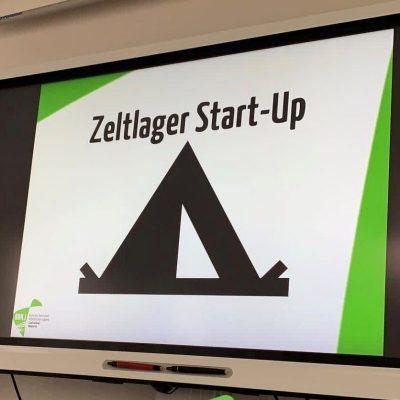 Zeltlager-StartUp