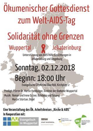 Ökumenischer Gottesdienst anlässlich des Welt-AIDS-Tages