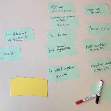 Zeltlager StartUp 3.0