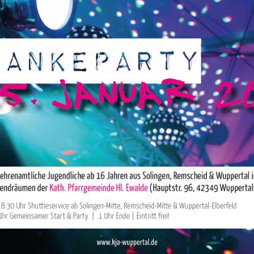 Dankeparty