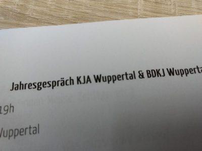 Jahresgespräch mit KJA