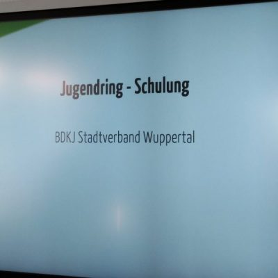 Jugendring Schulung